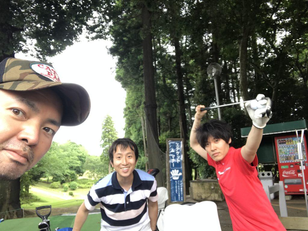 6年ぶり。ゴルフ復活。ダイナミックゴルフ千葉(ショートコース)にて。