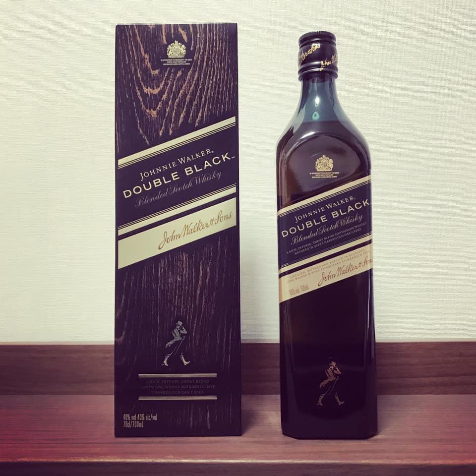 『ジョニーウォーカー・ダブルブラック(Johnie Walker Double Black)』味わう。